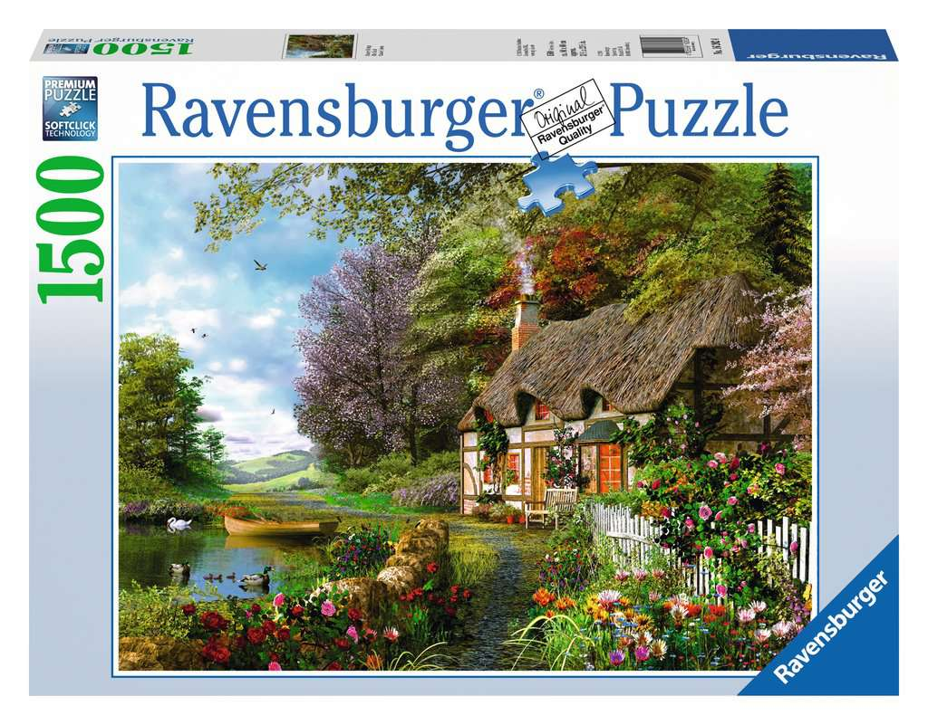 Country Cottage 1500 Piece Jigsaw Puzzle