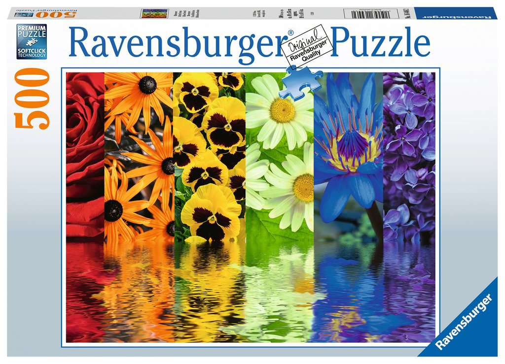 Floral Reflections 500 Piece Jigsaw Puzzle