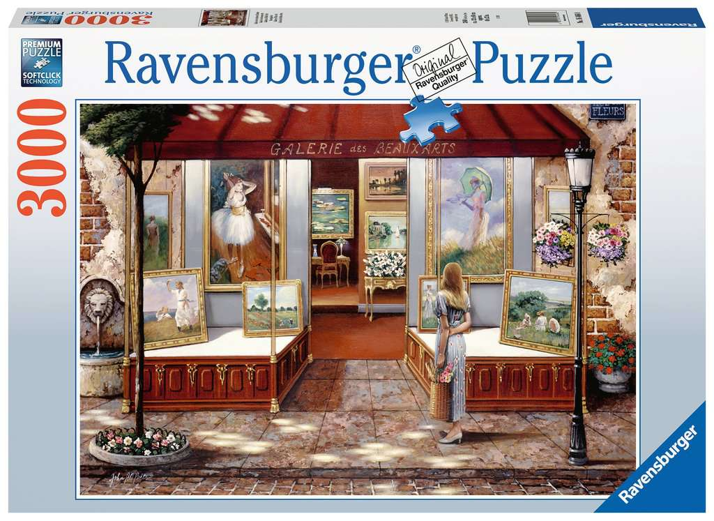 Gallery of Fine Arts 3000 Piece Jigsaw Puzzle