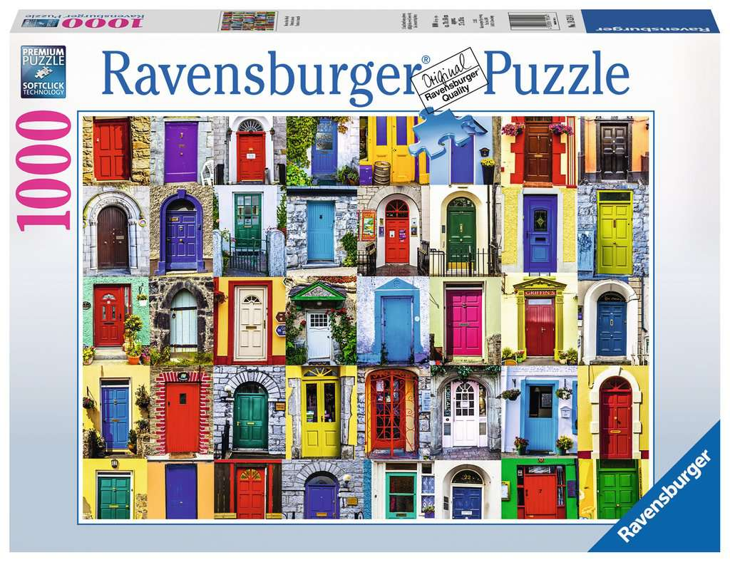 Doors of The World 1000 Piece Jigsaw Puzzle