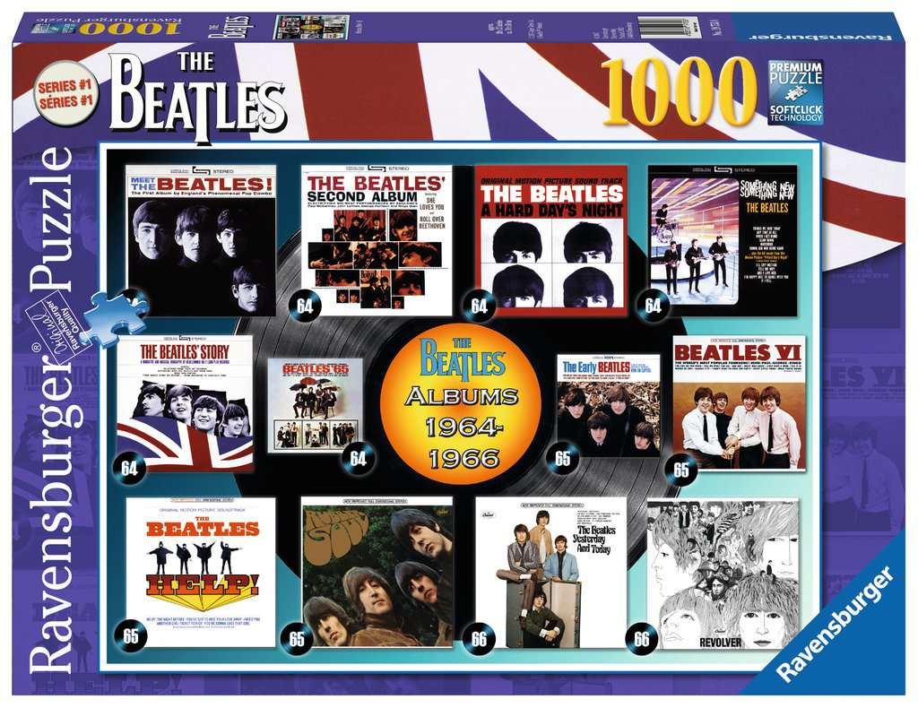 Beatles Early Albums 1000 Piece Puzzle