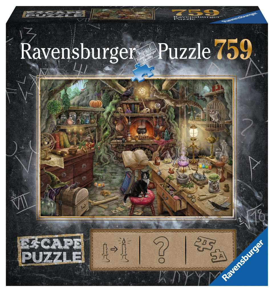 Witch Kitchen 759 Piece Escape Puzzle