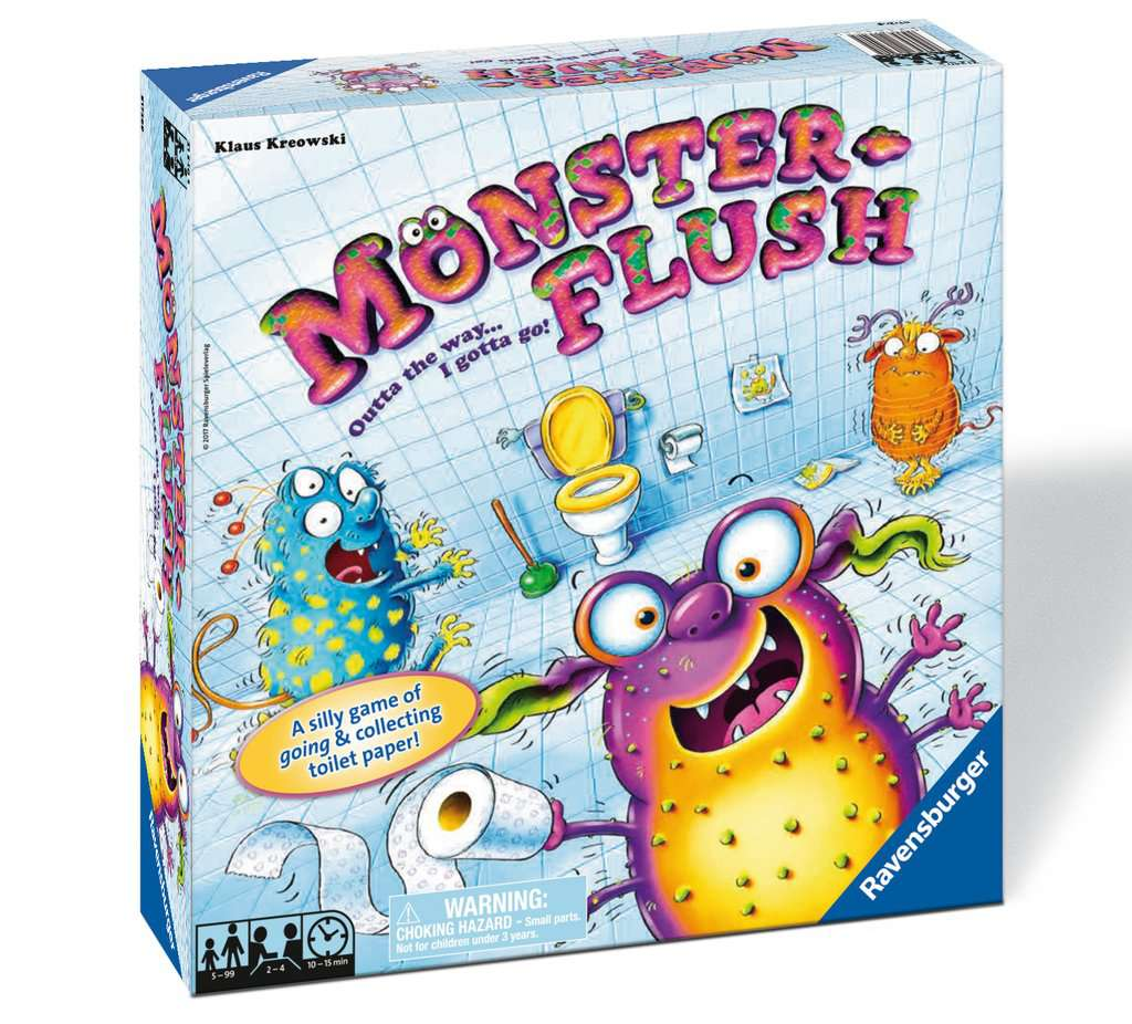 Monster Flush Game