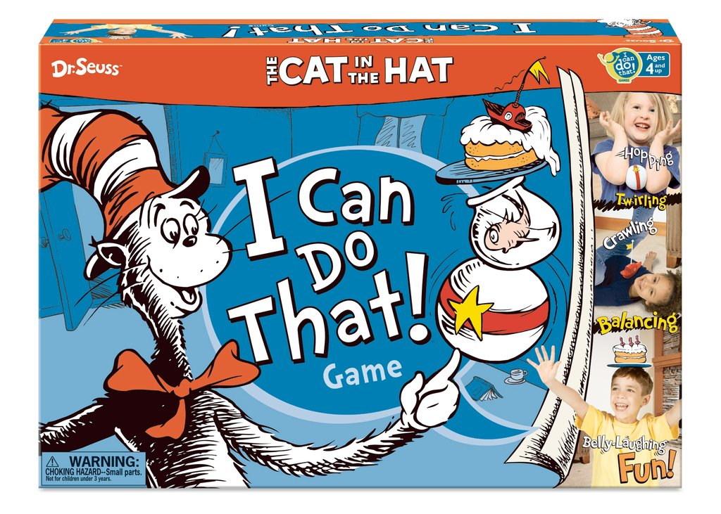 Dr Seuss I can Do That Game