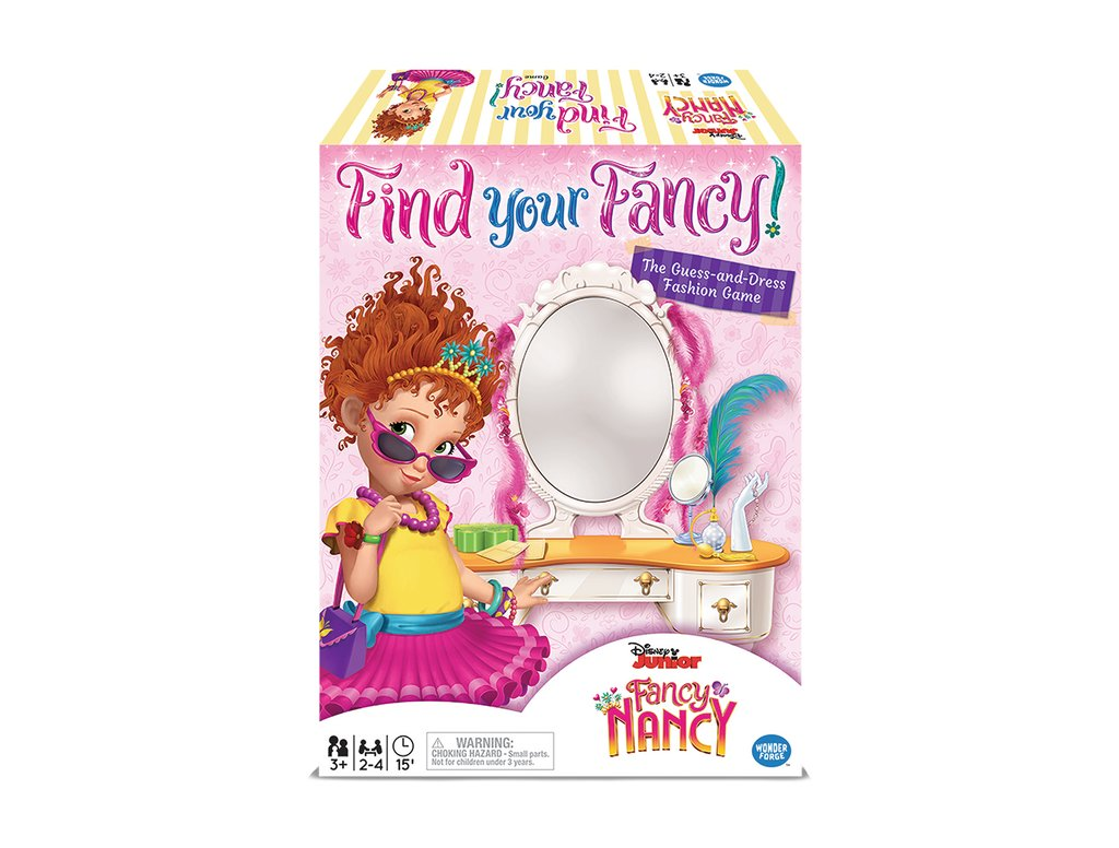 Fancy Nancy Find Your Fancy Dress Up Game