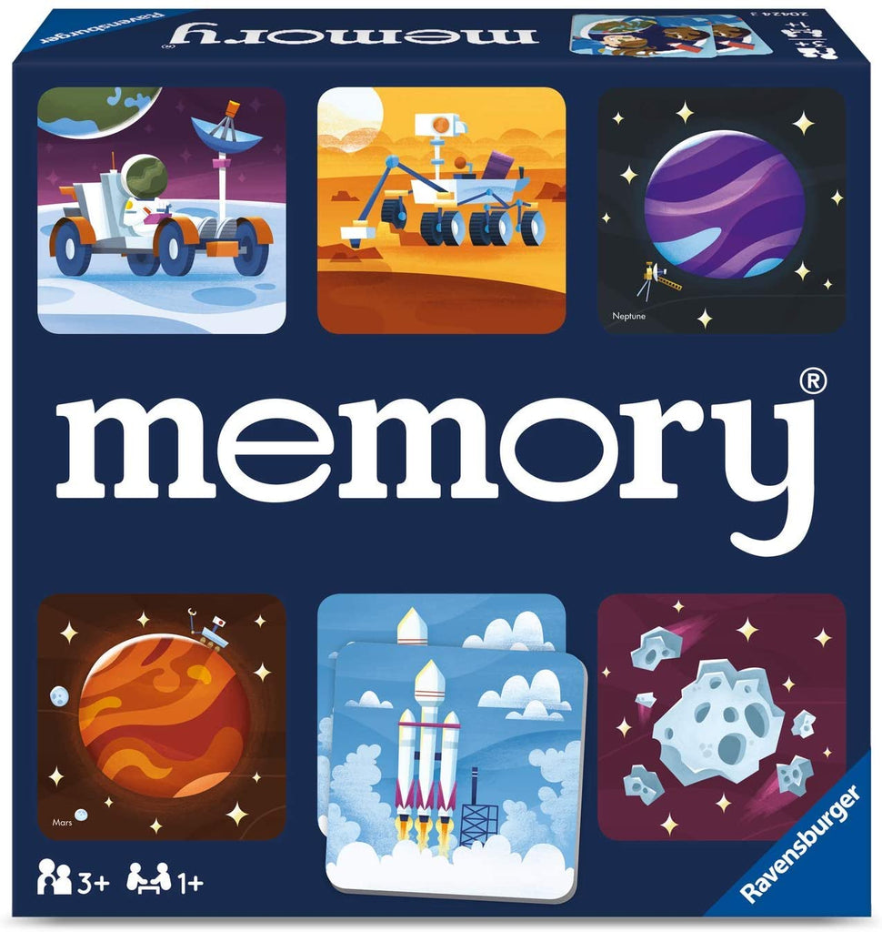 Space Memory Matching Game