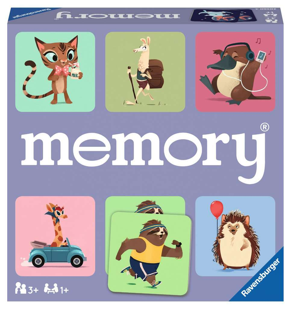 Wide World of Animals Memory Matching Game