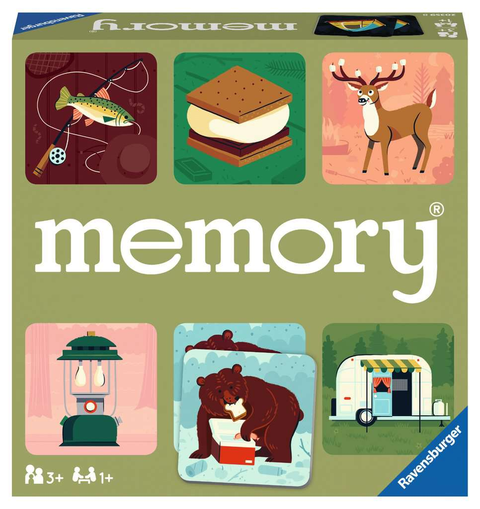 Great Outdoors Memory Matching Game