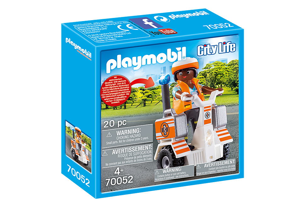 Playmobil 70052 Rescue Balance Racer