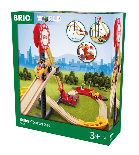 Brio Roller Coaster Train Set