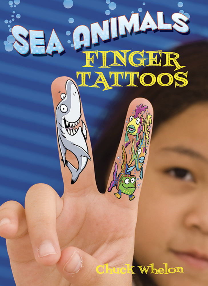 Sea Animals Finger Tattoos