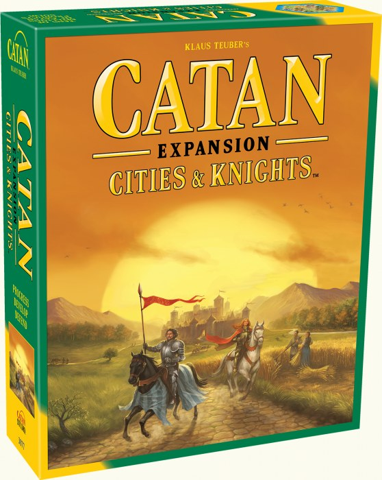 Settlers of Catan Cities Knights Expansion