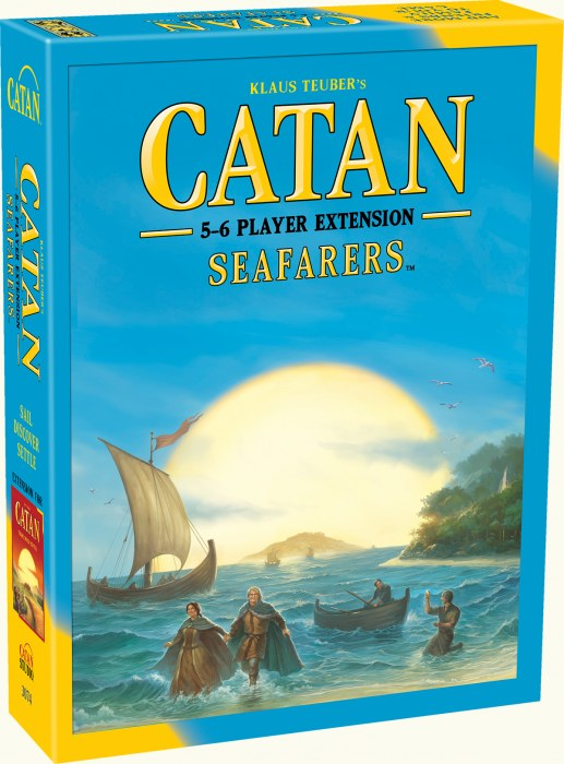 Settlers of Catan Extension Seafarers