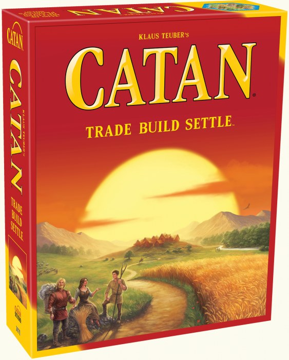 Settlers of Catan Strategy Game