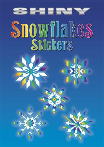 Shiny Snowflake Stickers