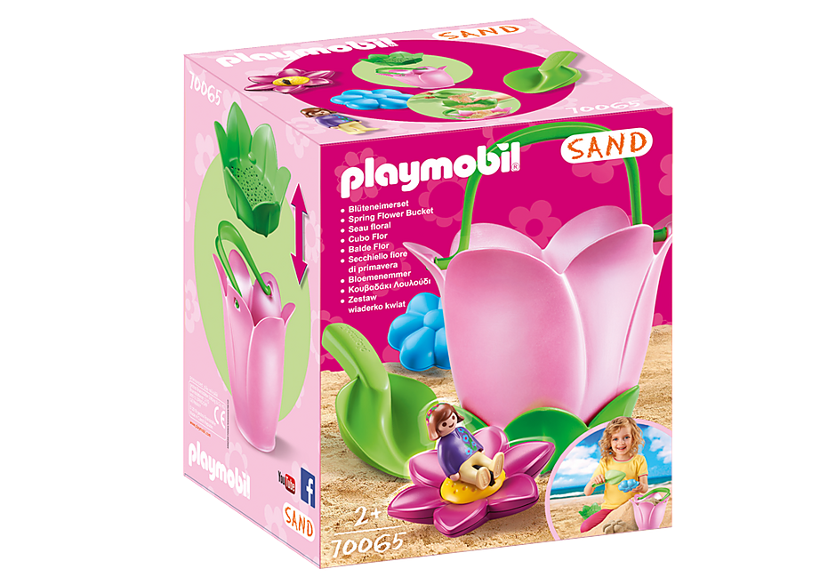Playmobil 70065 Spring Flower Bucket