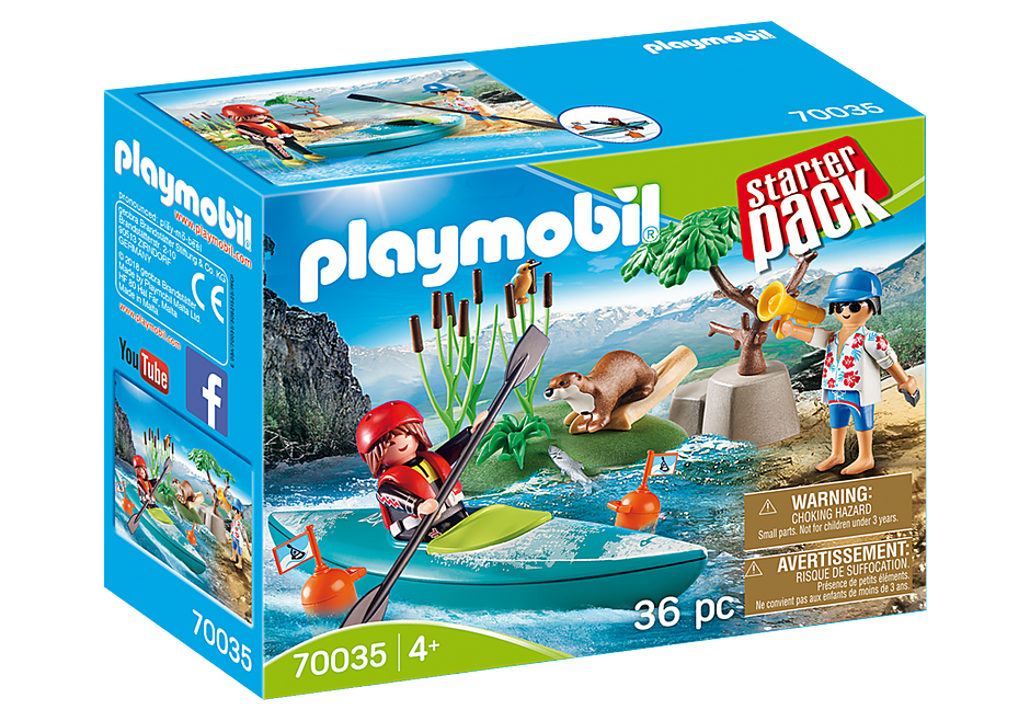 Playmobil 70035 Kayak Adventure