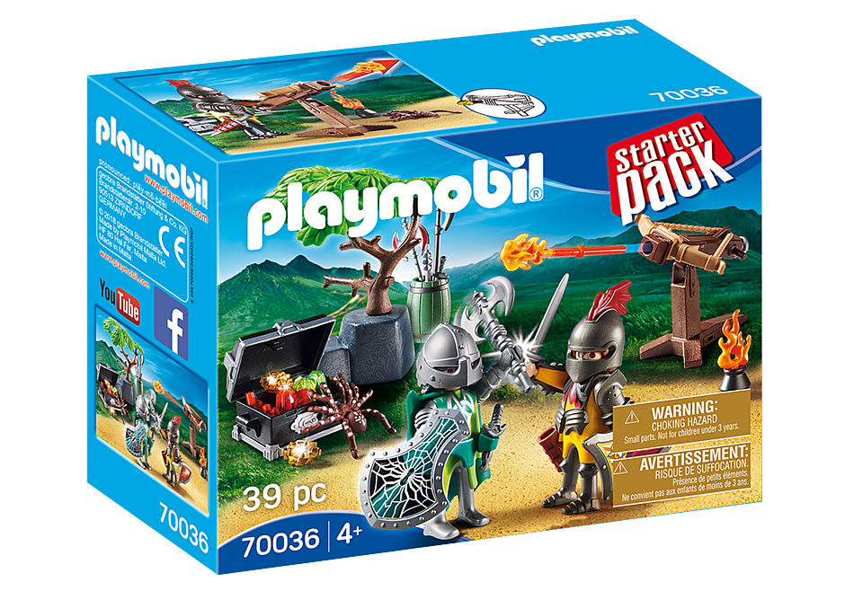 Playmobil 70036 Knight's Treasure Battle