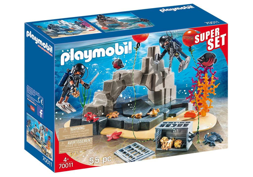Playmobil 70011 Tactical Dive Unit
