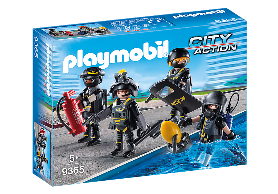 Playmobil 9365 Tactical Unit Team Figures
