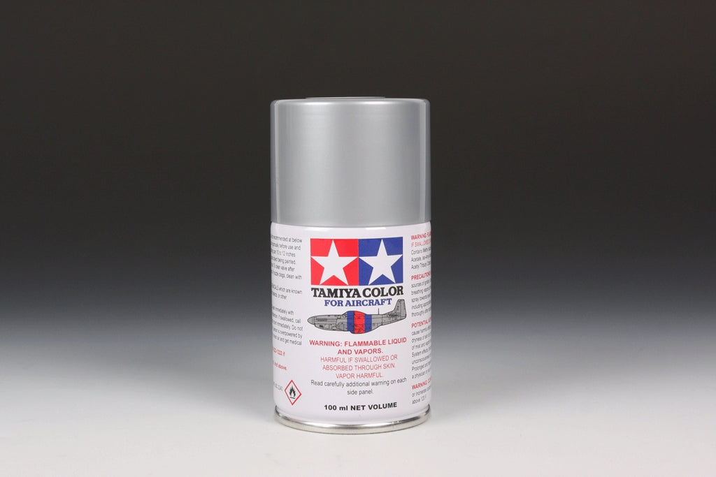 Tamiya Color AS-12 Bare Metal Silver Spray Paint