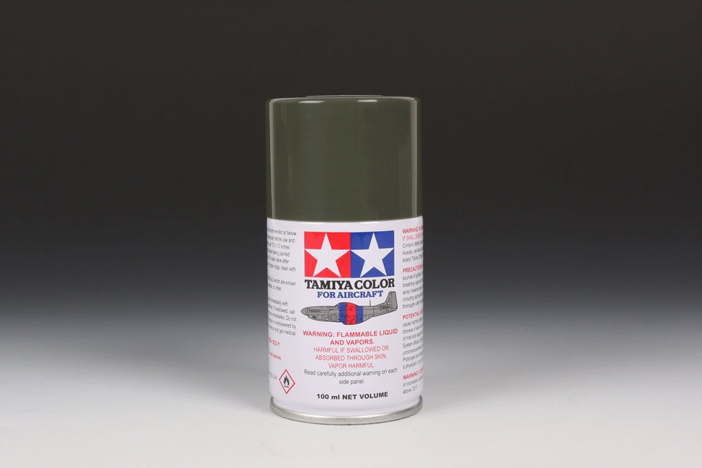 Tamiya Color AS-30 Dark Green II Spray Paint