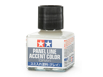 Tamiya Gray Panel Line Accent Color