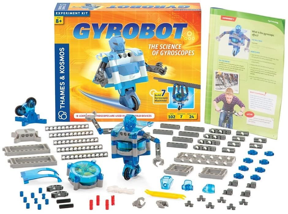 Thames & Kosmos Gyrobot The Science of Gyroscopes Kit
