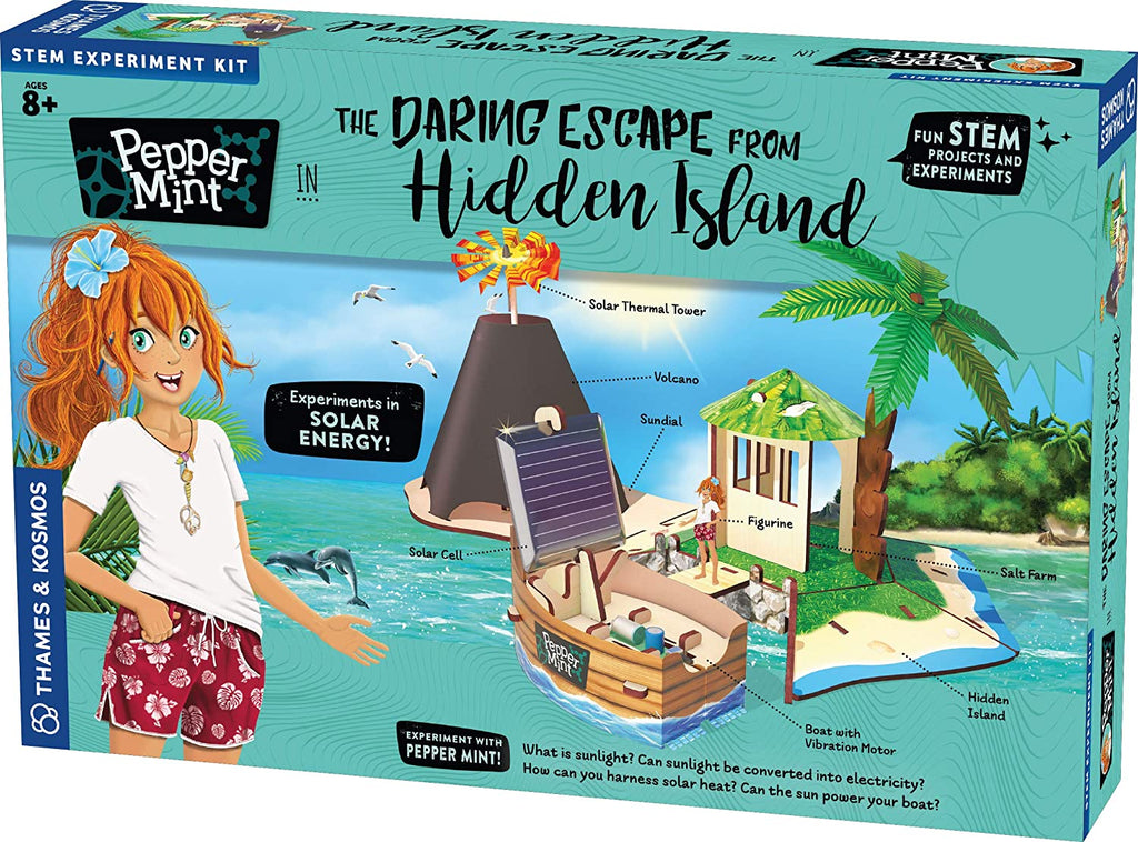 Thames & Kosmos Pepper Mint Escape from Hidden Island