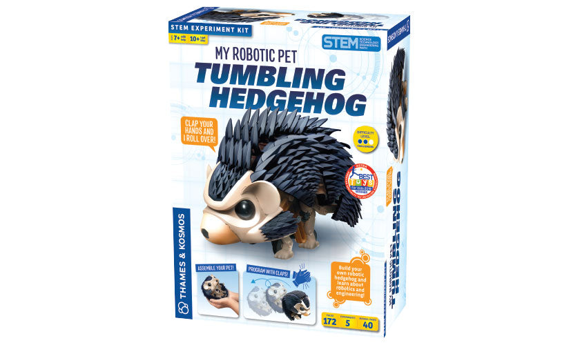 Thames & Kosmos 620500 Tumbling Hedgehog Robotic Pet