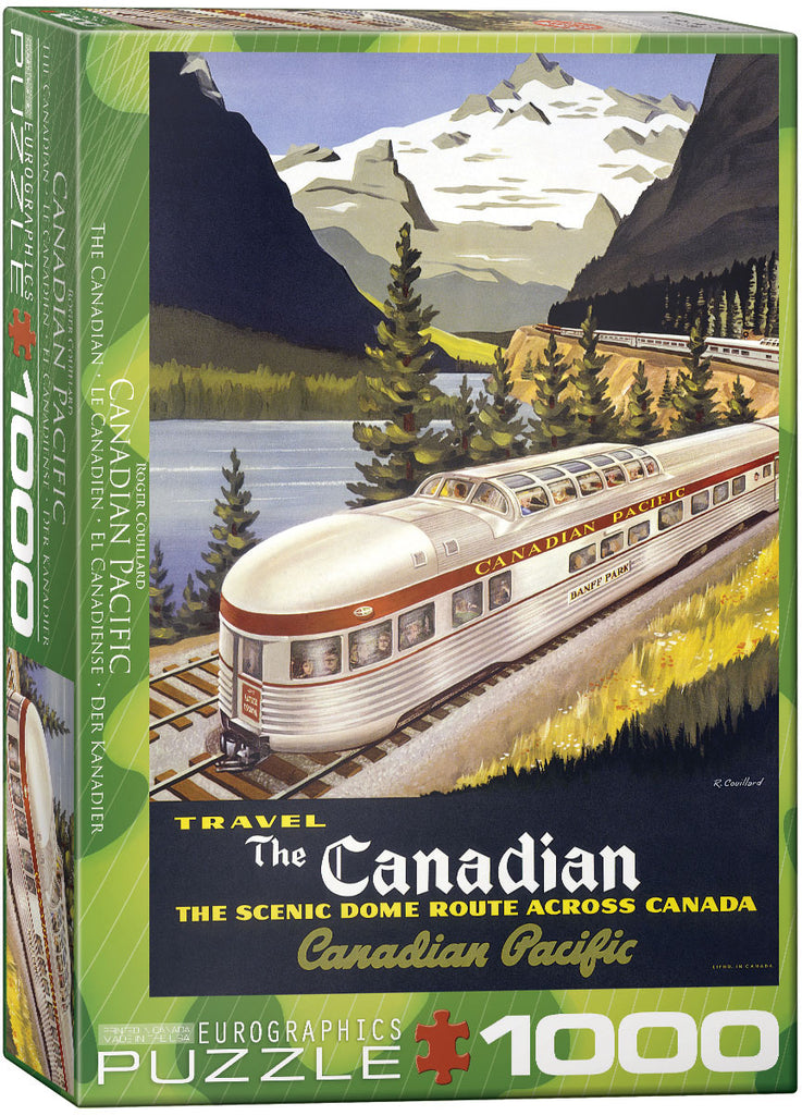 Eurographics The Canadian 1000 Piece Jigsaw Puzzle