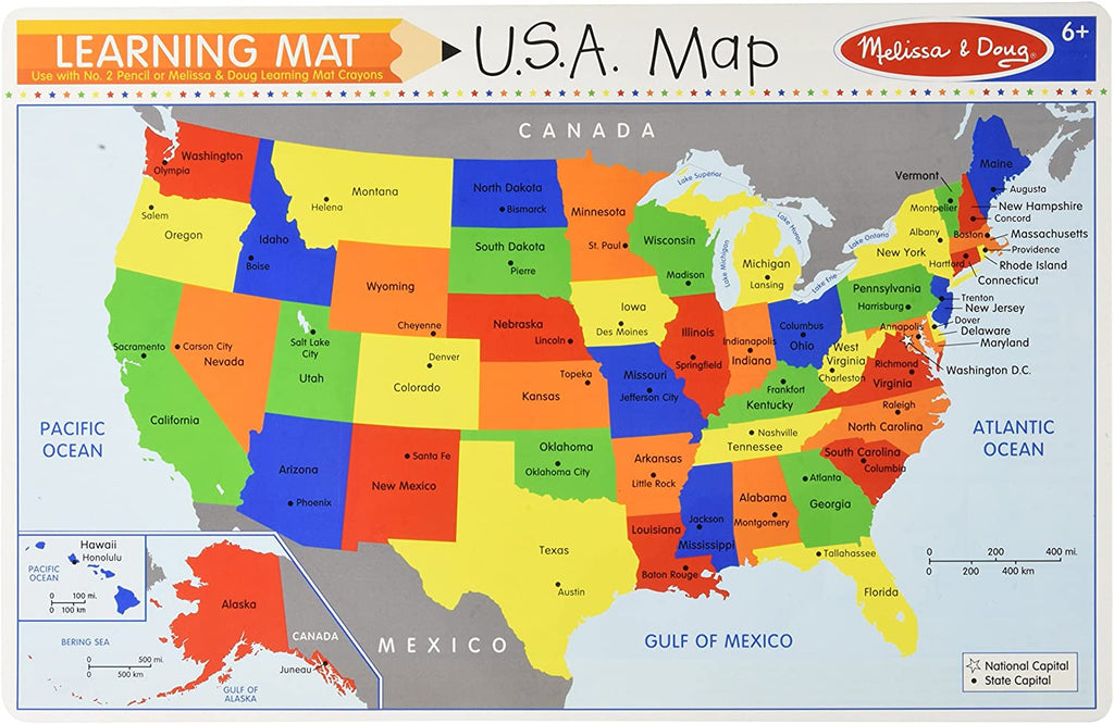 The United States Write A Mat