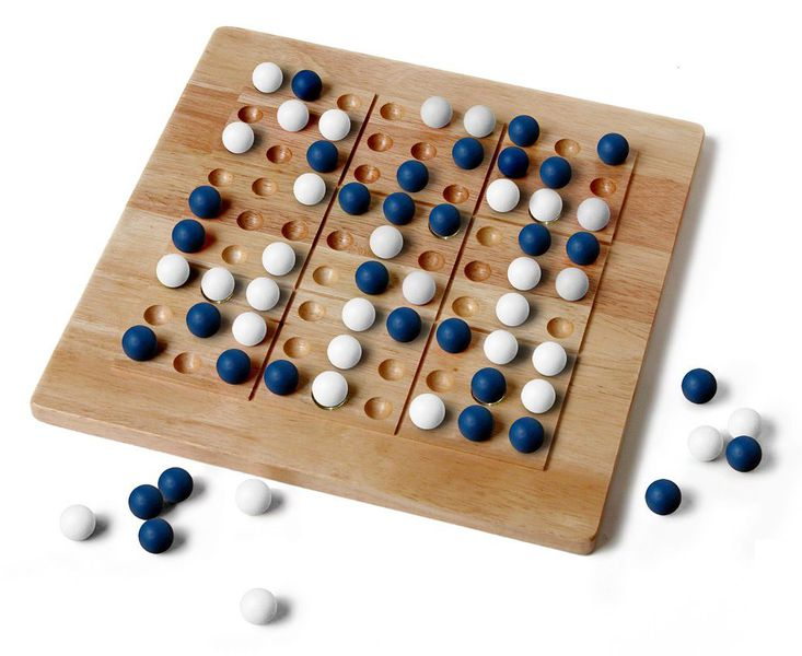 TicTacKu Solid Wood Game