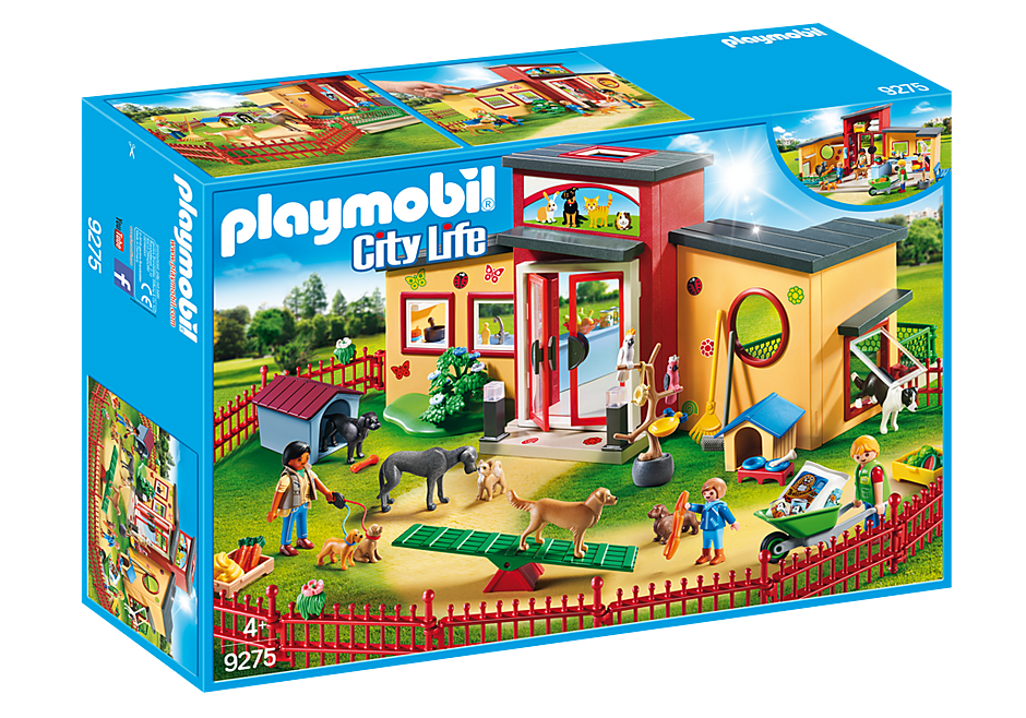 Playmobil 9275 Tiny Paws Pet Motel