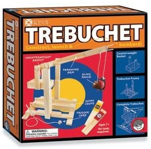 Keva Contraptions Trebuchet Building Set