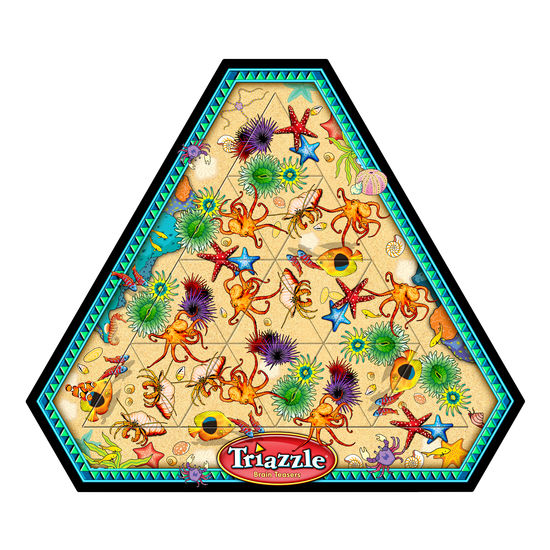 Triazzle Puzzle Tide Pool