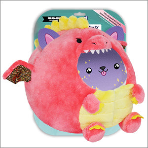 Squishable Undercover Red Dragon Disguise