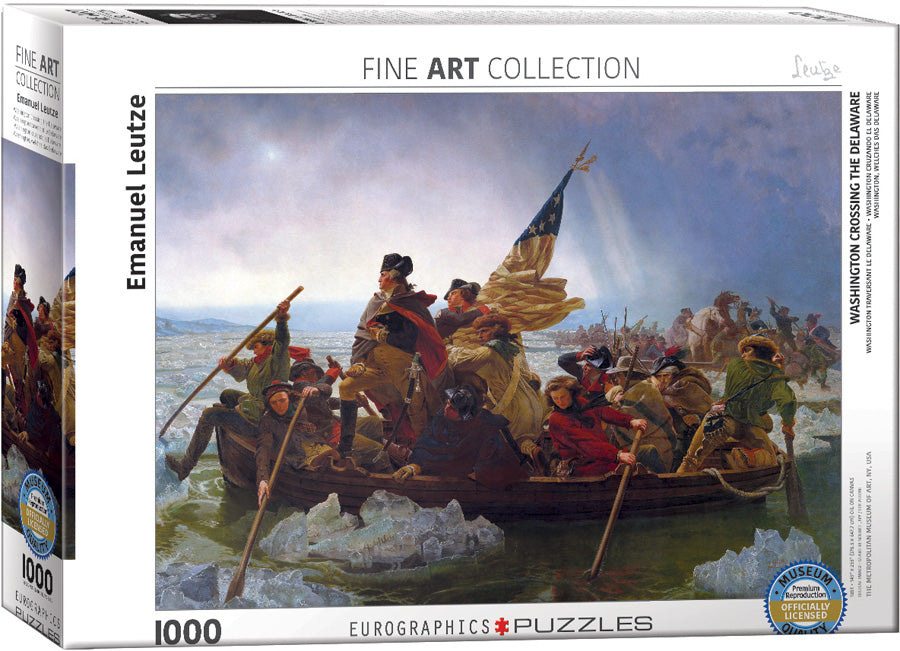 Eurographics Washington Cross the Delaware 1000 Piece Jigsaw Puzzle