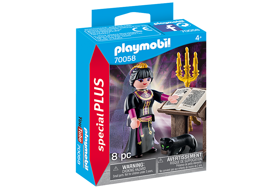 Playmobil 70058 Witch with Cat