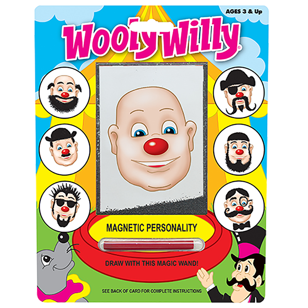 Wooly Willy Magnetic Face Puzzle