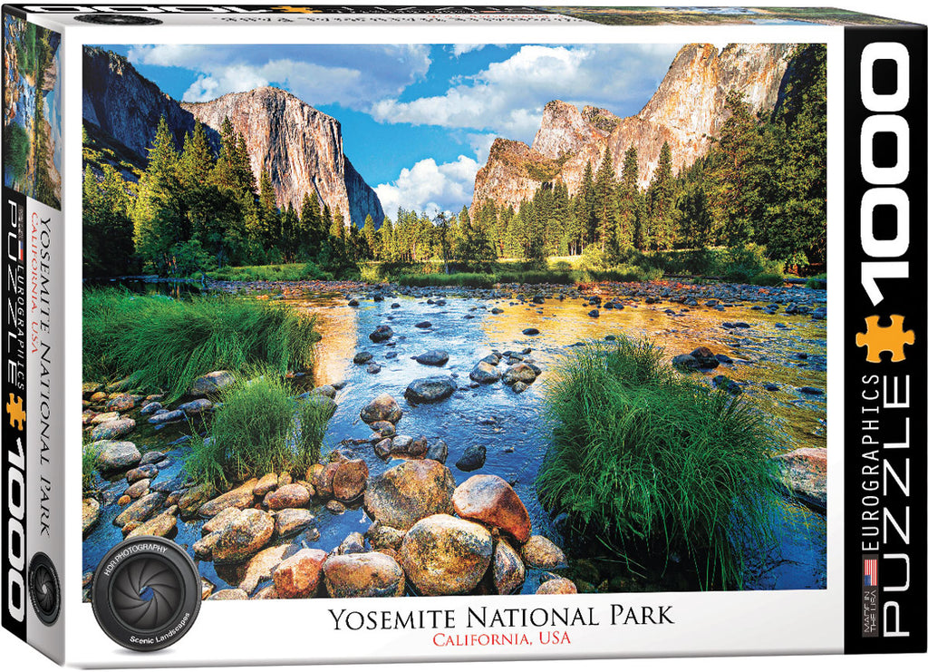 Eurographics Yosemite National Park 1000 Piece Jigsaw Puzzle