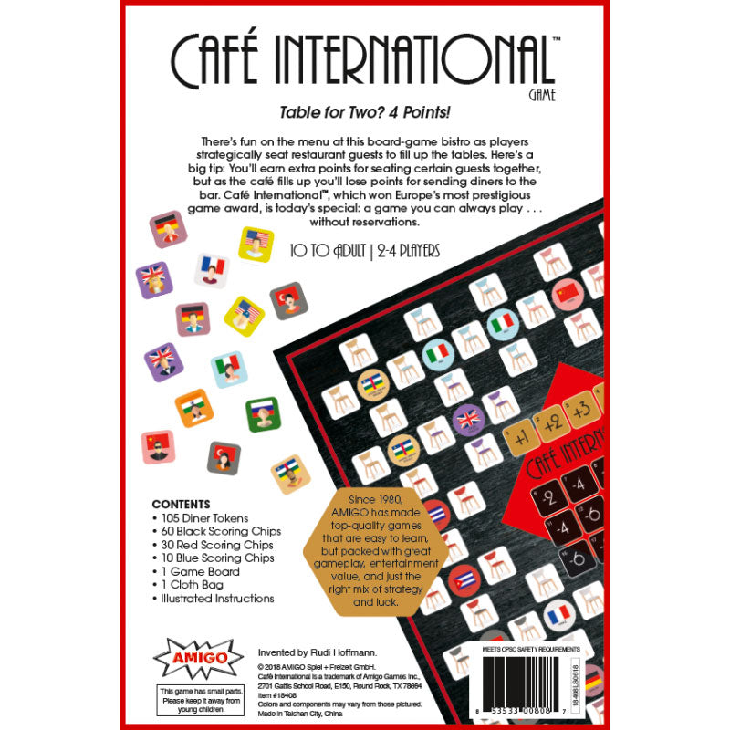 Cafe International Game