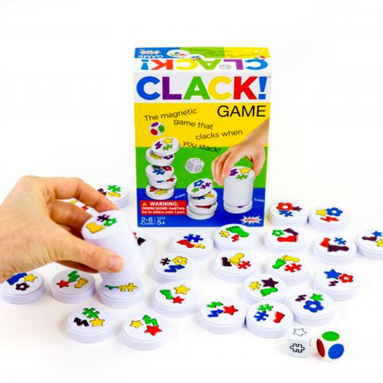 Clack Magnetic Stacking Game