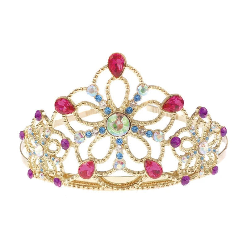 GP Bejewelled Tiara Gold with Gems