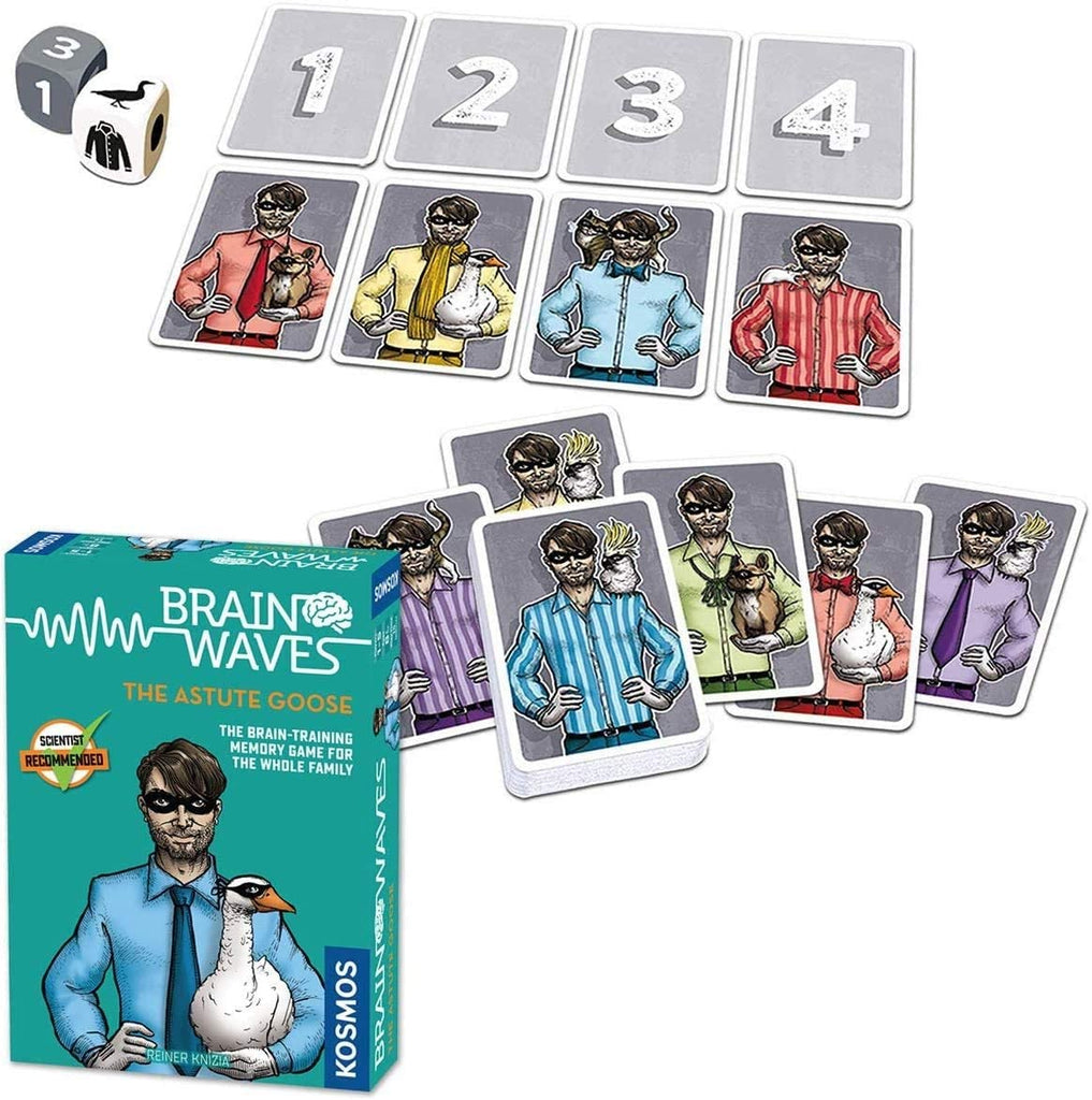 Thames & Kosmos The Astute Goose Brain Waves Game