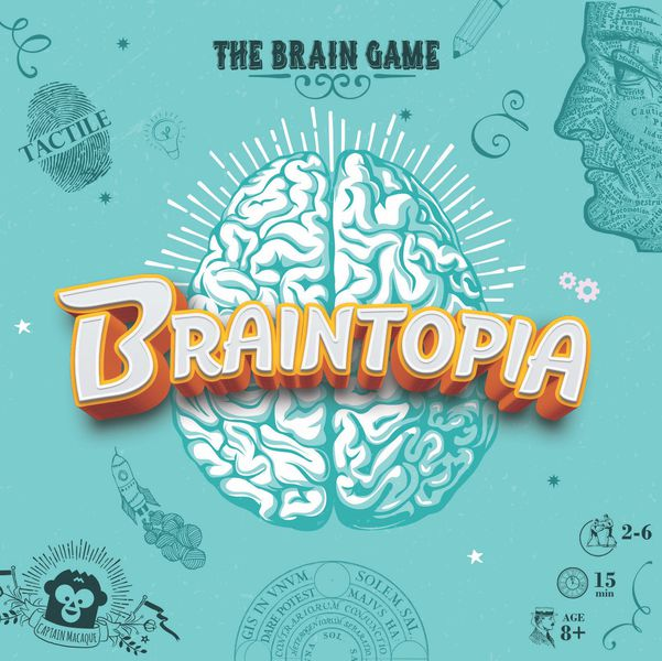 Asmodee Braintopia Game