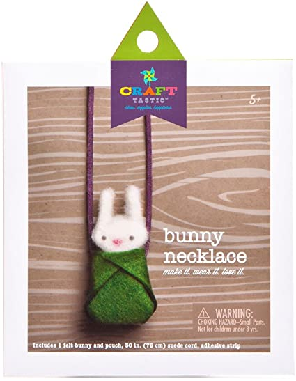Ann Williams CT1635 Bunny Necklace Craft Kit