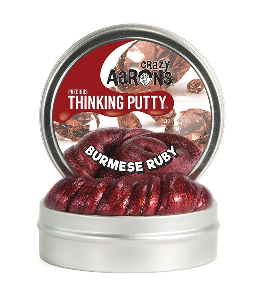 Crazy Aaron Burmese Ruby Thinking Putty