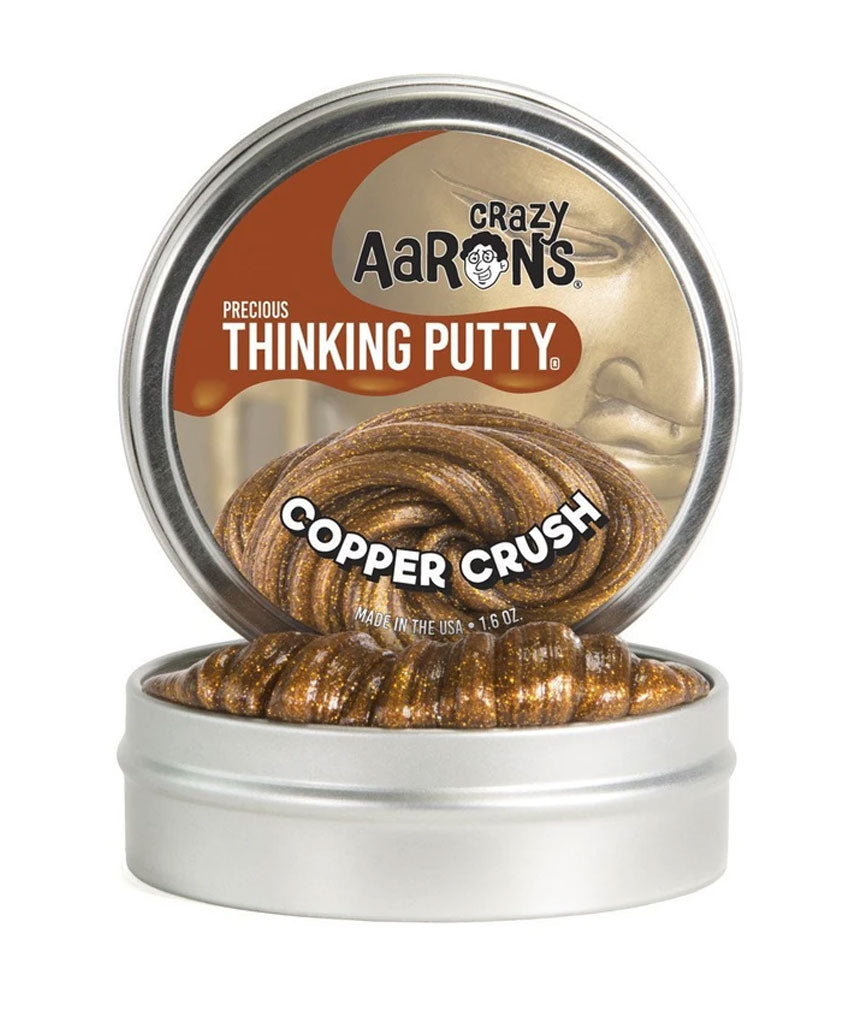 Crazy Aaron Copper Crush Thinking Putty