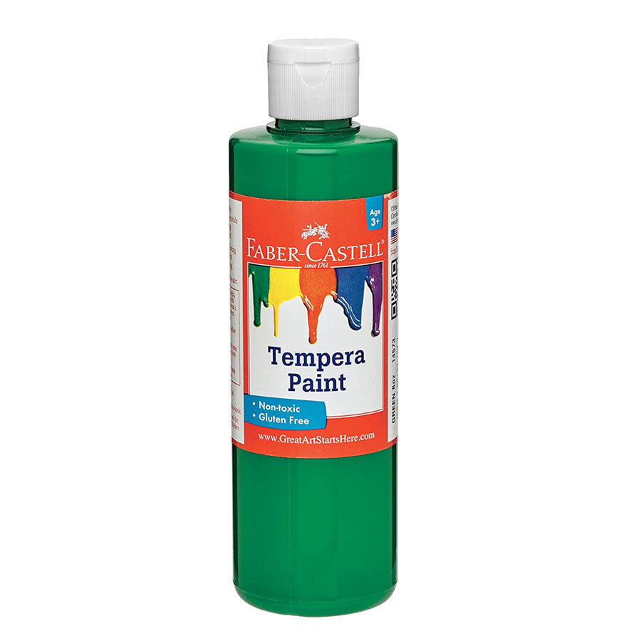 Green Tempera Paint
